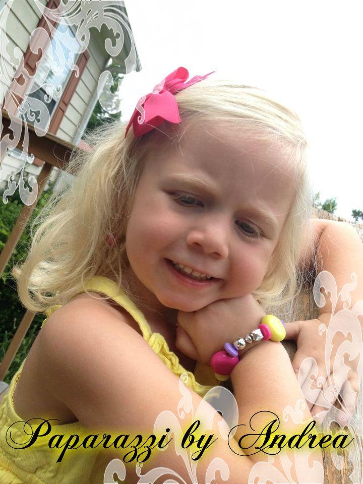 Olivia Rocking Her Bracelet!