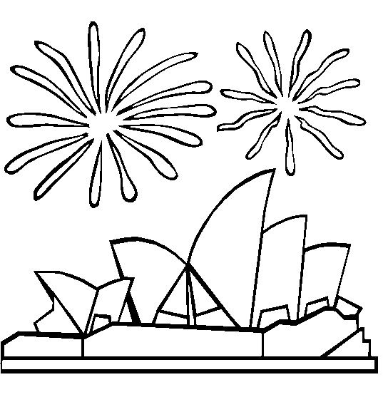 198 best coloring pages around the world images on pinterest for Australia day coloring pages
