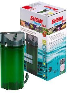 Filtro externo de qualidade EHEIM Classic para aquários até 250L. Os filtros externo Eheim Classic têm eficácia comprovada, componentes de elevada qualidade e são extremamente fáceis de manter e colocar em funcionamento.  Disponível para entrega imediata ou envio grátis. http://www.aquacomets.net/product/filtro-externo-para-aquario-eheim-classic-250