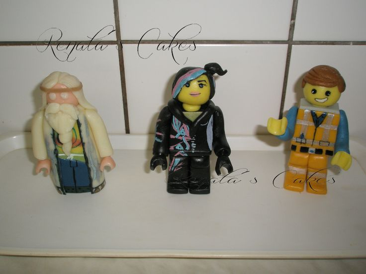 Lego příběh - Vitruvius,Hustěnka,Emmet