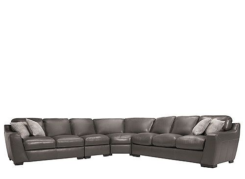 Cheap Sectional Sofas Carpenter Leather Sectional Sofa w Queen Sleeper