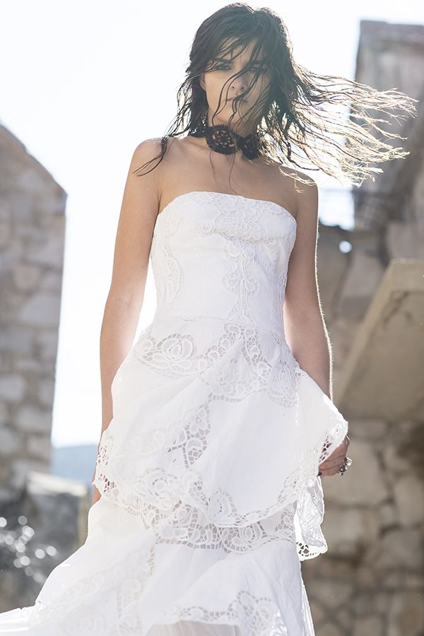 DR8200 'the wild bride' dress #nevenka #madeinmelbourne #australiandesigner #lace #white #bride