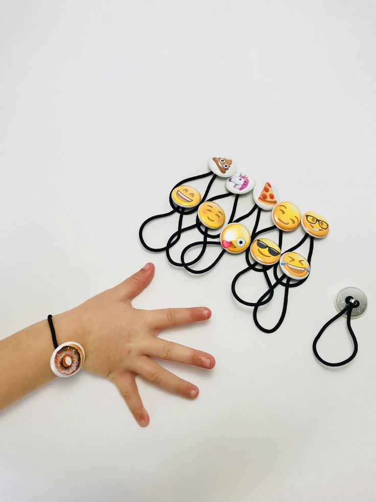 A personal favorite from my Etsy shop https://www.etsy.com/listing/550089826/emoji-elastic-bracelets-happy-faces-ios