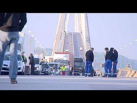 Blocages au pont de Normandie
