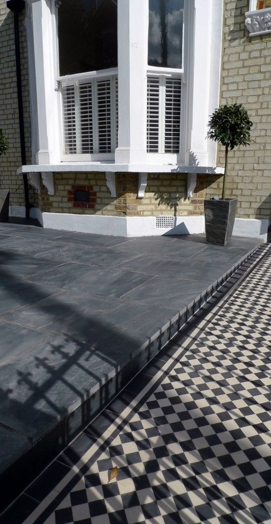 Paving Designs For Front Gardens find this pin and more on front garden ideas Victorian Front Garden Design South London
