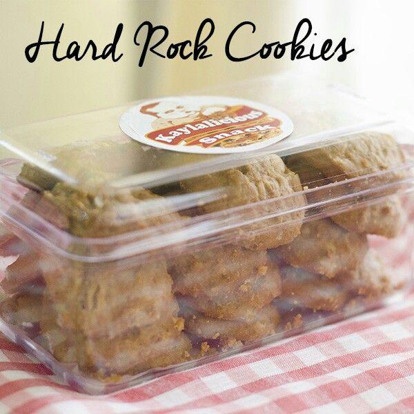 Hard Rock Cookies #Kaylalicious