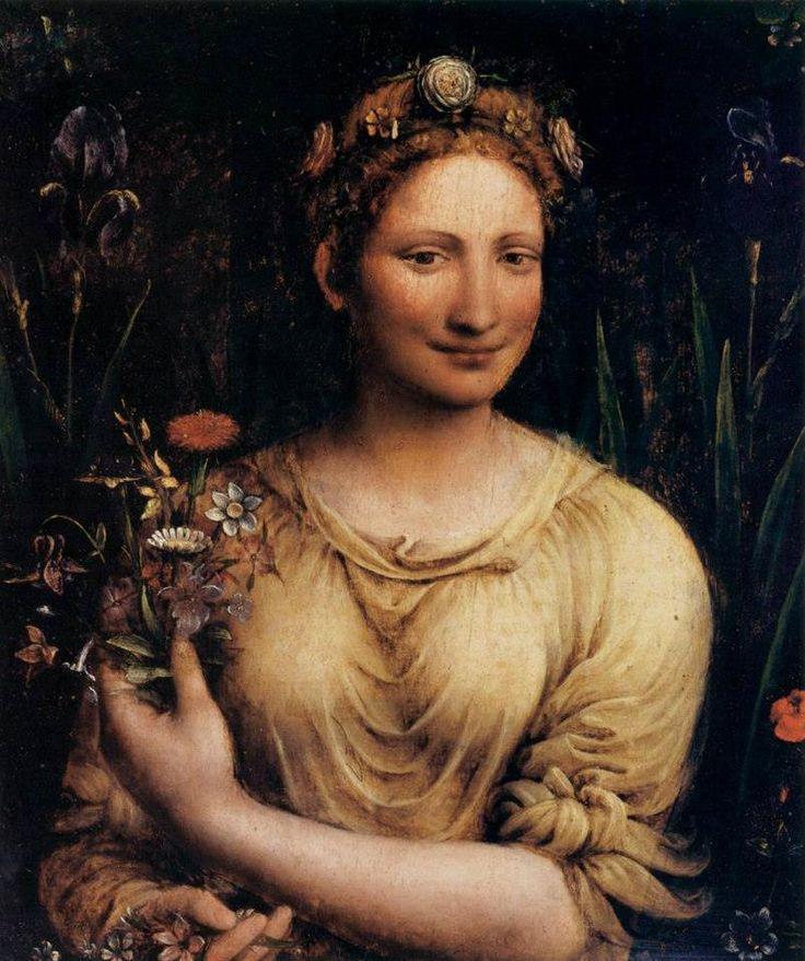 Francesco Melzi - Flora  Galleria Borghese