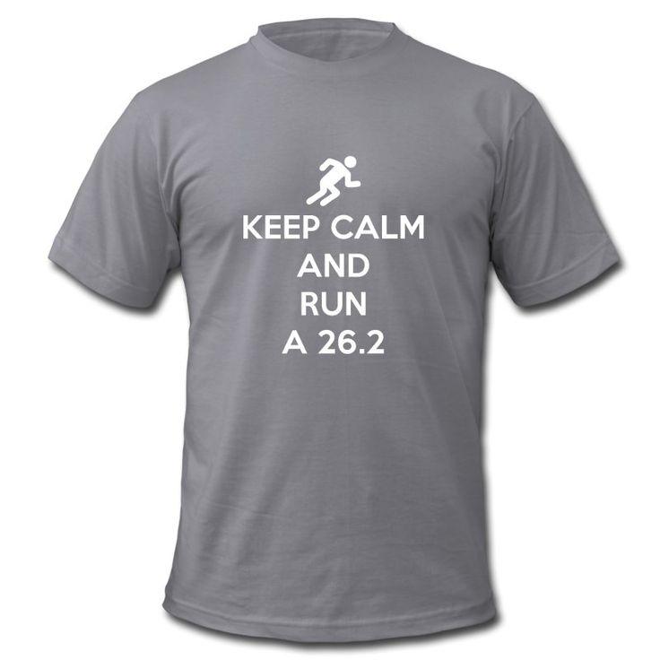 Keep Calm and Run a 26.2 #running #marathon
