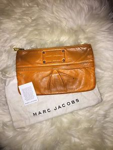 Marc Jacobs Clutch Neon Orange Authentic | eBay