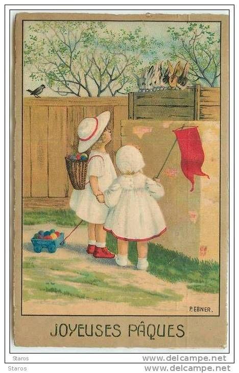 Cartes Postales > Thèmes > Illustrateurs & photographes > Illustrateurs - Signés > Ebner, Pauli - Delcampe.fr