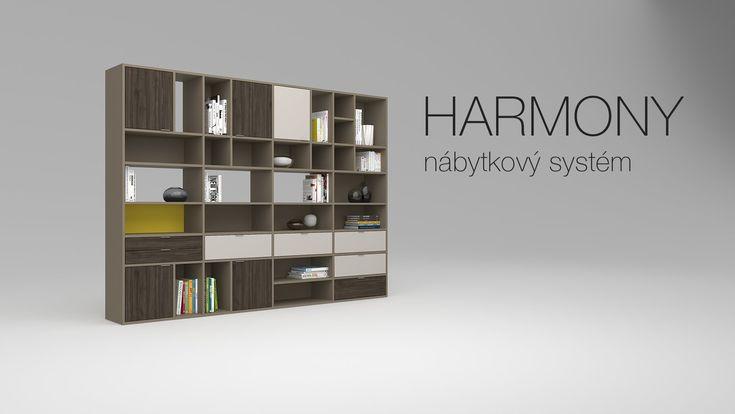 HARMONY, unikátní nábytkový systém od HANÁK NÁBYTEK