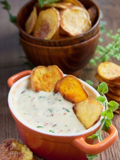 Soupe aux lardons et pommes de terre