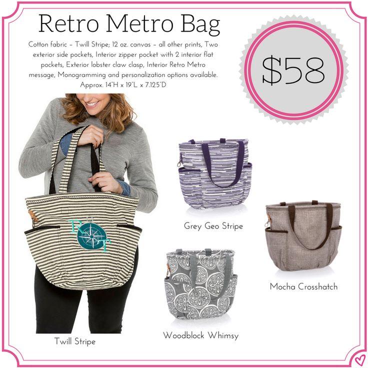Thirty One Retro Metro Bag Fall/Winter 2017