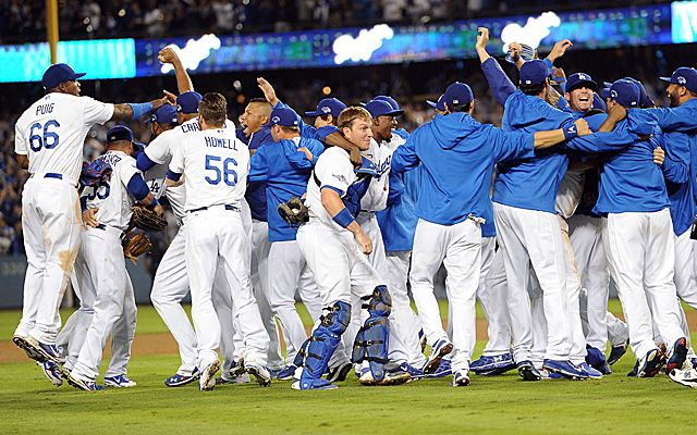 See the dodgers win the world series