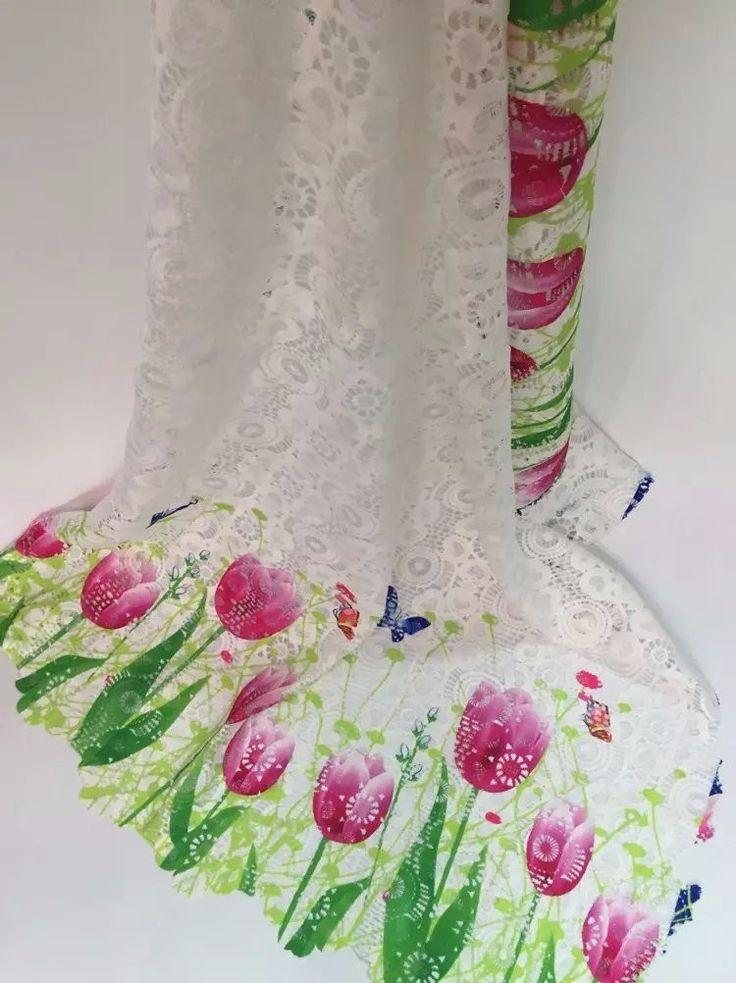 (5yds/шт) 4 цветов сетка дизайн гипюр кружева вышивки африканский растворимые в воде кружева ткань для партии JK55 01 купить на AliExpress