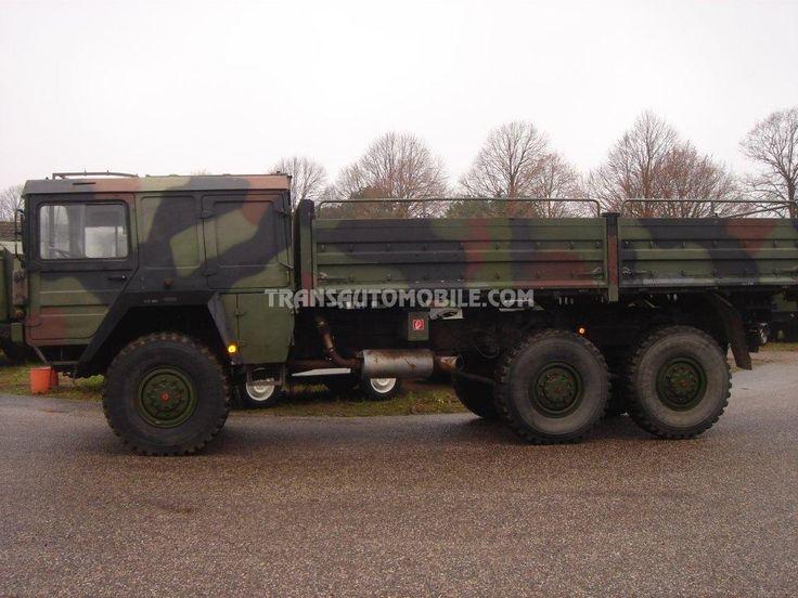 Trucks Flatbed Man KAT A1 Ex Army 6X6 https://www.transautomobile.com/en/export-man-kat-a1/1423?PI
