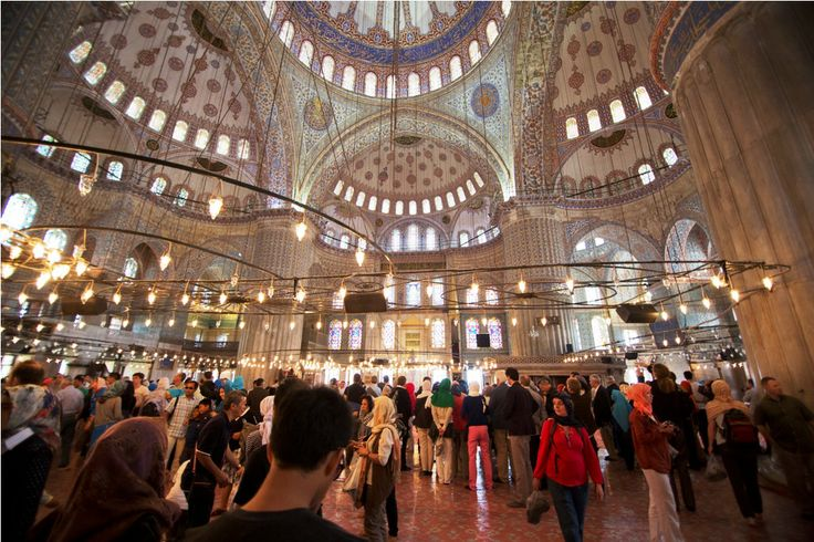 Inside Hagia Sophia, #Istanbul! Magnificent! #church #turkey #cruises #travel #excursion #louis
