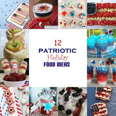 12 Patriotic desserts #holidays