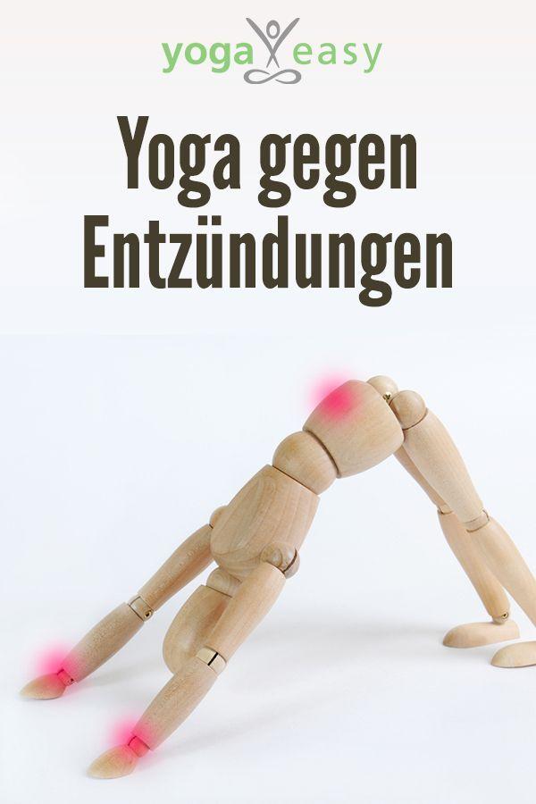 Yoga gegen Entzündungen