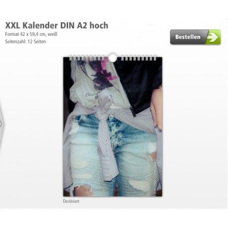 XXL Calendar 2017 - to DIN A2 Fashion