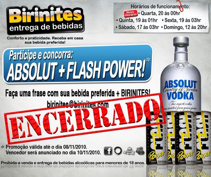 PROMOÇÕES E NOVIDADES!!! www.facebook.com/... #BirinitesDelivery #Birinites #Alphaville #Tambore #AlphavilleeArredores #Delivery #Beer #Cerveja #Drinks