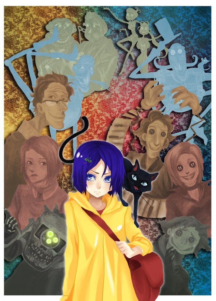 Coraline by ~animegirl000 on deviantART