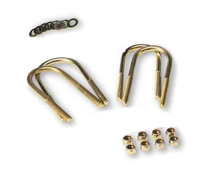 1975 JEEP CJ6 Rancho U-Bolt Kit: U-Bolt Kit Fits 1969 to 1975 Jeep CJ;Rear;Includes 4 u-bolts with nuts… #truckparts #jeepparts #4wheelparts