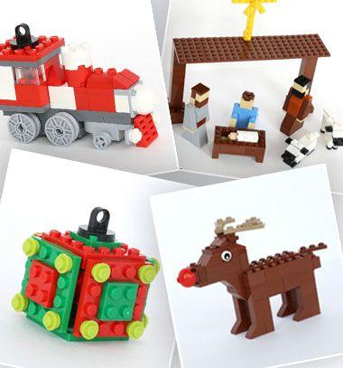 Five christmas lego projects to build (with instructions) / Karácsonyi / téli témájú legó ötletek (építési útmutatóval) / Mindy - craft tutorial collection