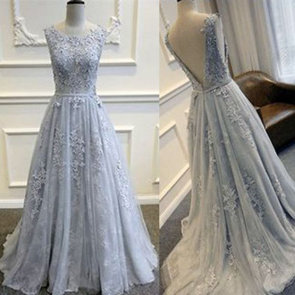 Elegant prom dress, long prom dress, gorgeous prom dress, formal prom dress, sleeveless prom dress, evening dress, prom dress with applique