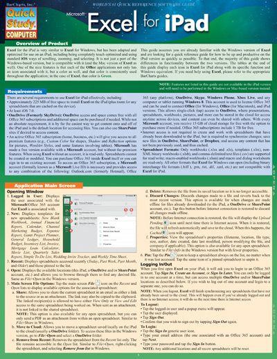 Excel Formulas Quick Study Computer