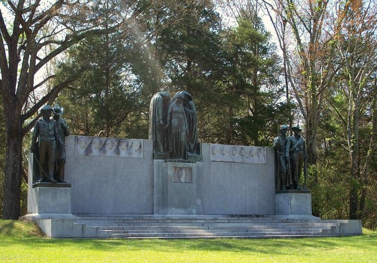 Confederate Memorial, Shiloh Battlefield