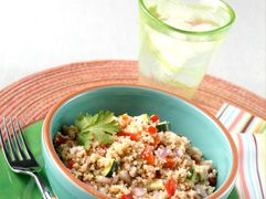 Recipe for some delicious Couscous salad! #mayoclinic #recipes