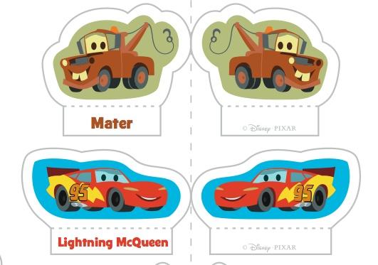 Free Disney Cars Printable Game