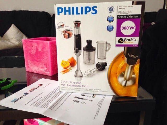 Produkttests mit Gewinnbiene: Philips Stabmixer Avance Collection im Test bei Leckerscouts.de