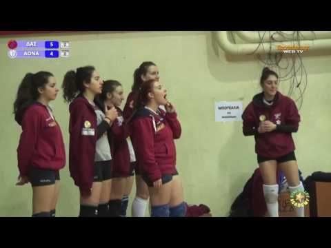 drapetsonavolley: Β' Εθνική Βόλεϊ Γυναικών ΔΑΣ-ΑΟΝΑ 01/02/2017