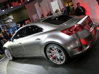 2008 New York Auto Show: Suzuki Kizashi 3 Concept Preview | Autobytel.com