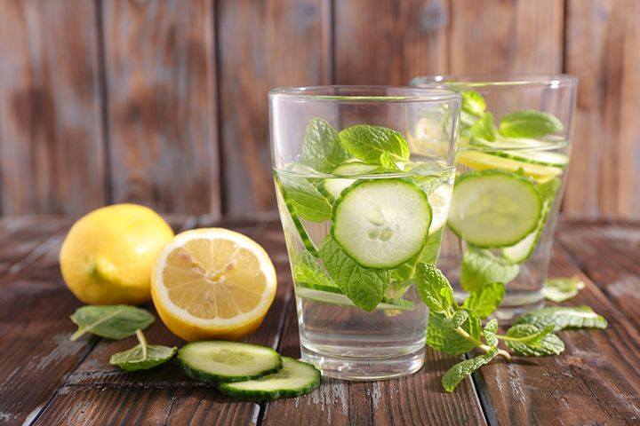 The 10-Day Tummy Tox Water: This infused water recipe from nutritionist J.J. Smith will keep you hydrated and slim.