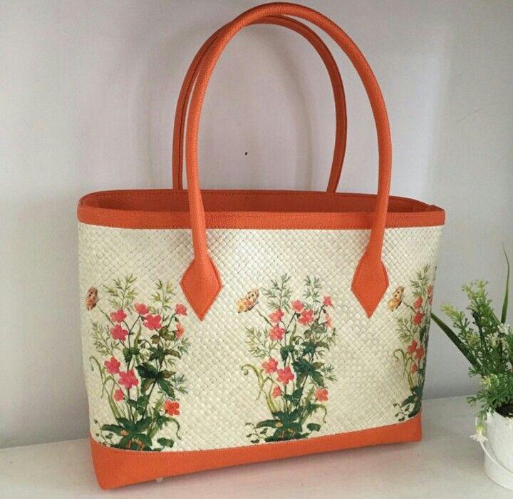 Prambanan Painting - Woven Bag