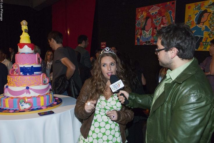 @BarrioItaliaTV entrevistando a @bruffinelli