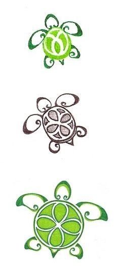 When I become a marine biologist I'm going to get this small turtle tattoo on my ankle:)