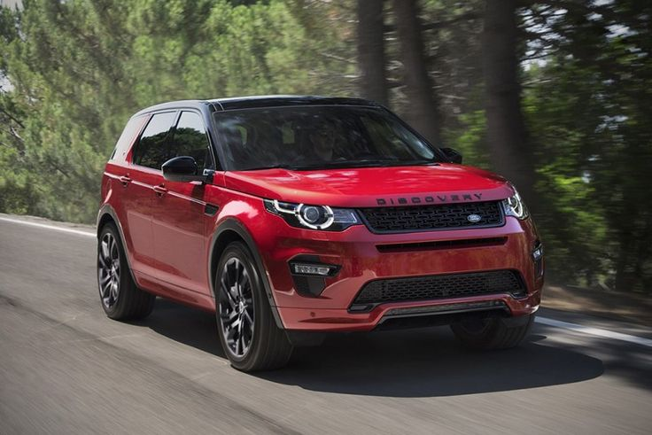 The 2017 Land Rover Discovery Sport Gets a Refresh and a
