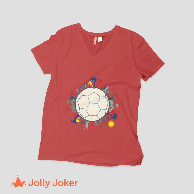 Pon tu propio estilo, diseñando tus camisetas de Colombia, créala y ordenala super rápido. ¡Quedara como tu la quieras!