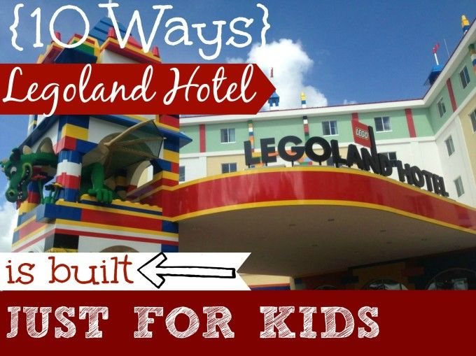 10 Ways the New LEGOLAND Hotel is Built for Kids - Suitcases and Sippy Cups