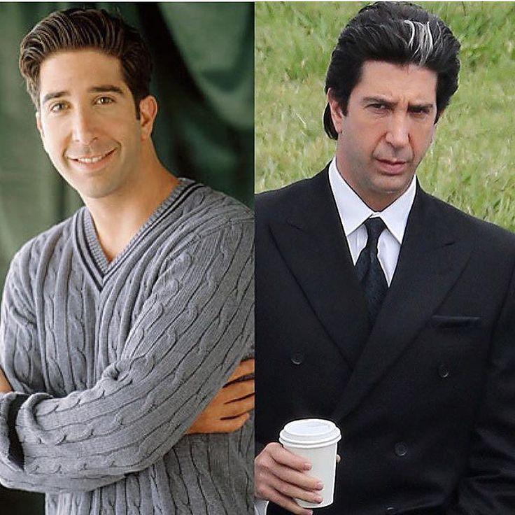 From Ross Geller to Robert Kardashian. David Schwimmer is playing as the Kardashians dad and famous lawyer who was part of the OJ trial by friendscaps