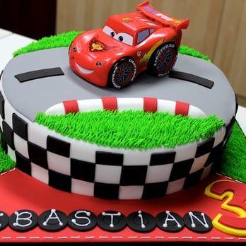 Disney Cars Birthday Cake - Yelp