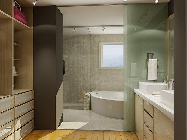 Bathroom With Walk In Closet Bathroom Walk In Closet Small