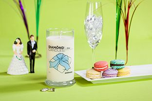 Diamond Candles!! Anniversary Candle- so cool! A ring in every candle ranging from $10-$5,000!! And the candles are huge!