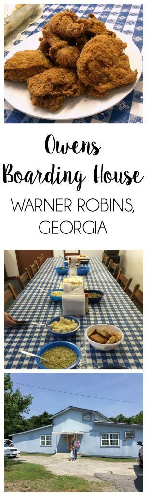 Put this little spot on your bucket list if you're driving through middle Georgia, because it's southern soul food at its best! Owens Boarding House (Warner Robins, Georgia) | http://jessicalynnwrites.com/2016/06/owens-boarding-house-warner-robins-georgia/