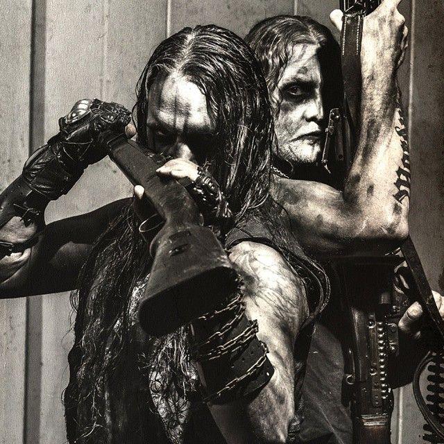 Marduk Frontschwein. Morgan and Mortuus