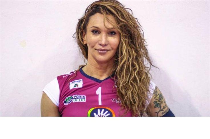 Rodrigo virou Tiffany, o ícone transexual que agita o voleibol